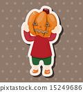 illustration, halloween, costume 15249686