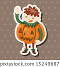 illustration, halloween, costume 15249687