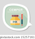ink, pen, icon 15257161