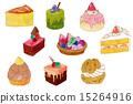 蛋糕 西式甜點 糕點 15264916
