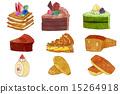 糕點 西式甜點 蛋糕 15264918