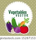 矢量 矢量图 蔬菜 15267153