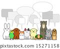 兔 兔子 小狗 15271158