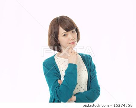 생각하는 여자 15274559