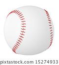 Baseball ball isolated on white background. 15274933