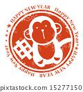 印章 圖章 猴生肖 15277150