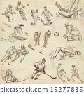 sport - hand drawn pack 15277835