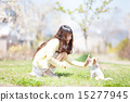 宠物狗 吉娃娃 人类 15277945