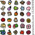 圖標 食品 食物 15280999