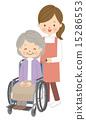 nursing wheelchair caregiver 15286553