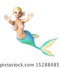 美人魚 游泳 人魚 15288485