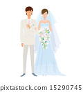 bridal, couple, bride 15290745