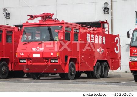 Stock Photo: firetruck, fire-engine, disaster
