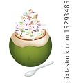 椰子 奶油 乳霜 15293485