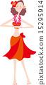 草裙舞 夫人 女士 15295914