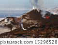Nature of Kamchatka: eruption Tolbachik Volcano 15296528