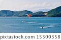 Parasailing in the bay of Nha Trang 15300358