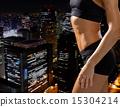 city, fitness, woman 15304214