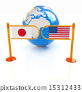 turnstile and flags 15312433