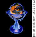 terrestrial, globe, model 15315412