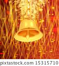 winter, bell, gold 15315710