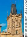 Charles Bridge tower, Prague, Czech Republic. 15319092