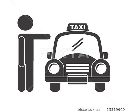 taxi design over white backgroundvector illustration 15319900