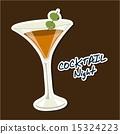 鸡尾酒 插图 饮料 15324223