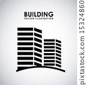 벡터, 건축, 건물 15324860