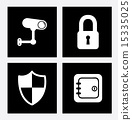 icons, vector, security 15335025