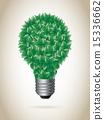 生态 绿色 矢量 15336662