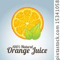 vector juice background 15341058