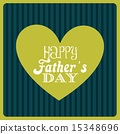 fathers day design over lineal background vector illustration 15348696