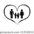 family design over white background vector illustration 15350633
