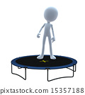 3D Guy Trampoline 15357188