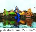 Three Sirens On Rocks 15357625
