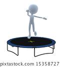 3D Guy Trampoline 15358727