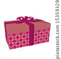 Gift Box Art Illustration 15359329