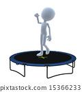 3D Guy Trampoline 15366233