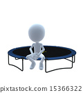 3D Guy Trampoline 15366322
