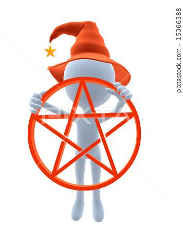 3D Halloween Guy 15366388
