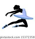 Ballerina Illustration Silhouette 15372358