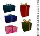 Gift Box Art Illustration 15373768