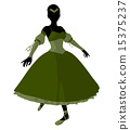 Ballerina Illustration Silhouette 15375237