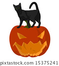 Halloween Cat Illustration 15375241
