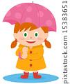 雨衣 河童 伞 15383651
