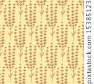 Sketch basil herb in vintage style 15385123