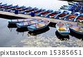 Boats and Pier in Danube  River 15385651