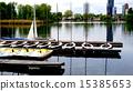 Boats in Danube  River 15385653