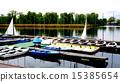 Boats in Danube  River 15385654